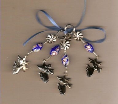Unique flying angel stitch markers