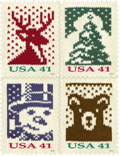 Image of Holiday Knits stamps